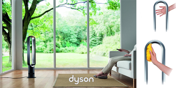 Ventilador Dyson Air Multiplier AM07 blanco chollazo en Amazon