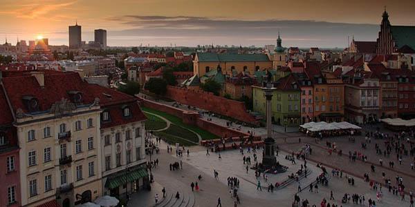 viaje a Polonia con coche de alquiler agosto 2017