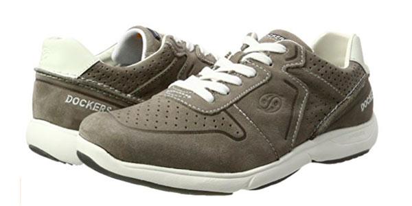 Zapatillas deportivas grises para hombre Dockers By Gerli baratas en Amazon