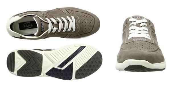 Zapatillas Dockers By gerli para hombre en color gris baratas Amazon