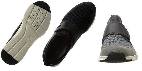zapatillas Geox Snapish con suela de confort acolchada y transpirable chollo