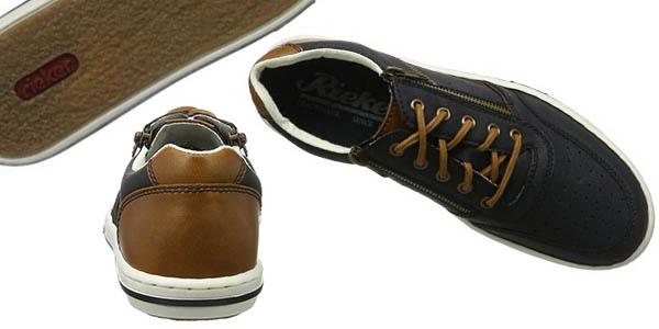 zapatillas Rieker para hombre cómodas y combinables