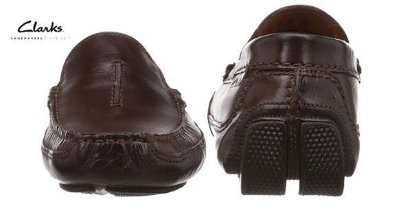 Mocasines para hombre Ashmont Race de Clarks chollo en Amazon