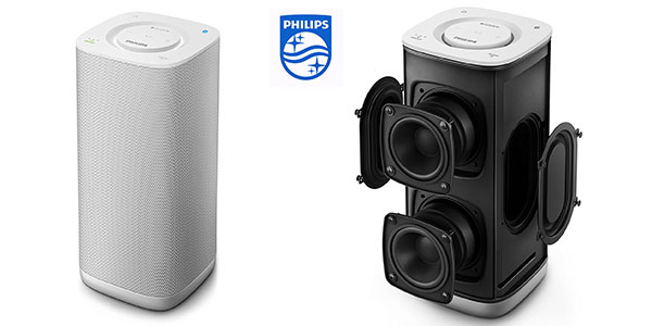 Altavoz Philips BM6W/10 portátil multiroom bluetooth barato