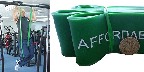 Bandas de resistencia para crossfit y ejercicio Affordable Fitness Equipment baratas
