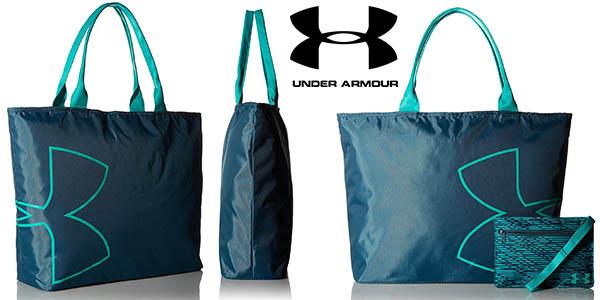 bolso Under Armour UA logo grande para llevar a la playa barato
