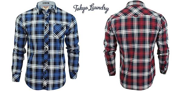 Camisas Tokyo Laundry Carlsson para hombre