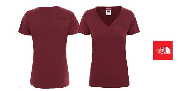 Camiseta para mujer The North Face Simple Dome t0 a3h6 chollo en Amazon