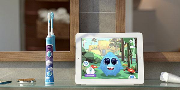 Cepillo dientes eléctrico Philips Sonicare HX632204 para niños barato