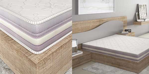 Colchón viscoelástico modelo Premium 90 x 190 x 20cm barato en Amazon
