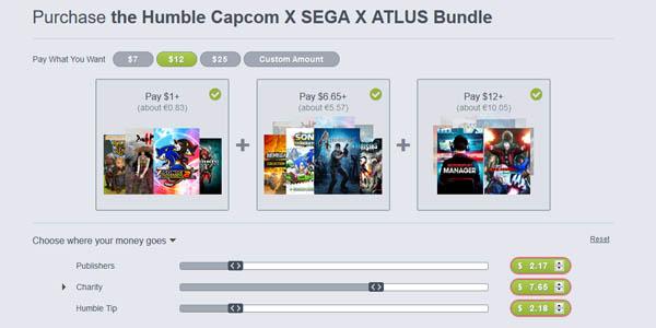 Comprar Humble Capcom Sega Atlus Bundle