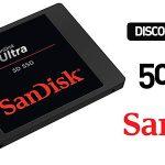Disco SanDisk Ultra SSD 3D de 500 GB
