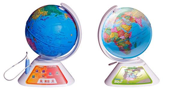 Globo terráqueo interactivo Oregon Scientific Smart Globe Discovery SG268 barato en Amazon