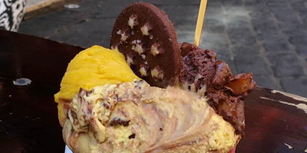 helados cremosos y económicos en Italia