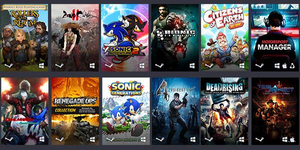 Humble Capcom Sega Atlus Bundle