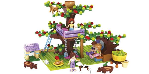 Juego de construcción Granja Fairyland de Ausini con 413 piezas rebajado