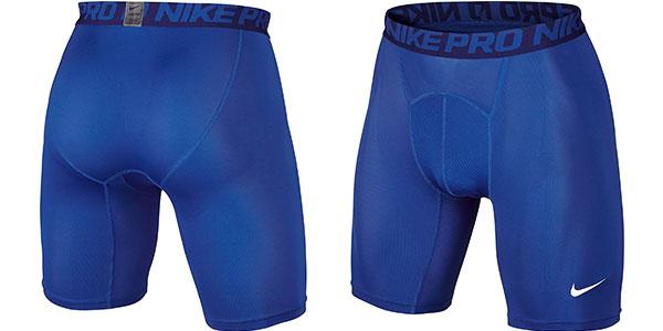 Malla de compresión Nike Pro 6 para hombre azul barata