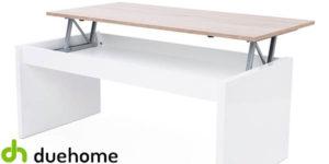 Mesa de centro de salón elevable barata