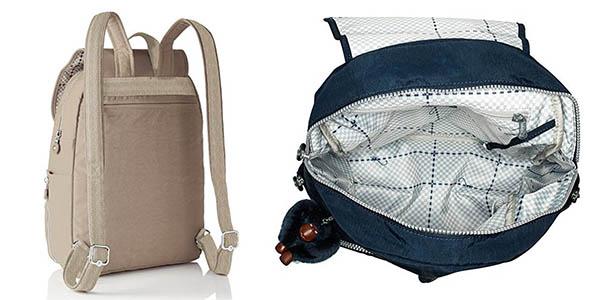 mochila poliéster resistente y cómoda de gran capacidad Kipling Cayenne