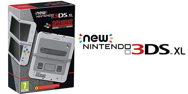 Reserva consola New Nintendo 3DS Edición especial SNES barata
