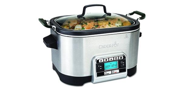 Olla de cocción lenta Crock-Pot CSC024X Multi-cooker 5.6L chollo en Amazon