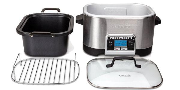 Olla de cocción lenta Crock-Pot CSC024X Multi-cooker 5.6L barata en Amazon
