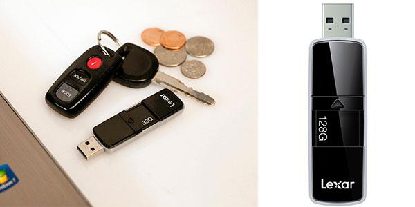 Pendrive Lexar P20 de 128 GB USB 3.0 ultrarrápido barato