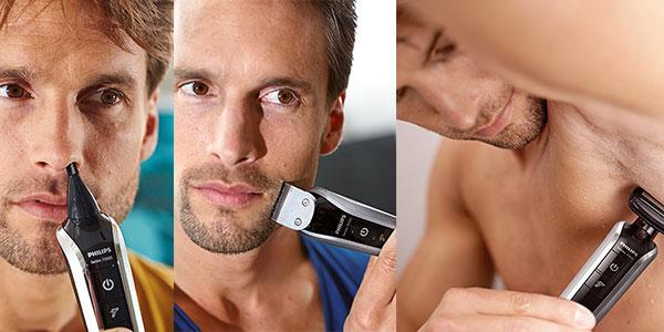Recortadora de barba, cabello y cuerpo Philips QG339815 barata