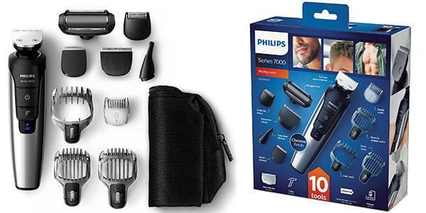 Recortadora de barba y cuerpo Philips QG339815 Serie 7000 PRO rebajada