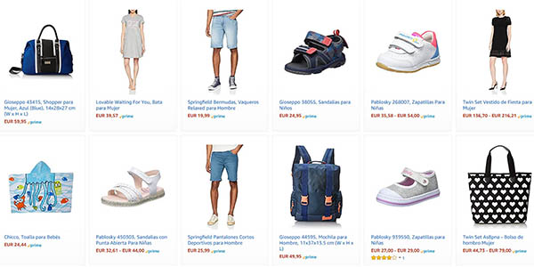 ropa de primeras marcas rebajada en Amazon