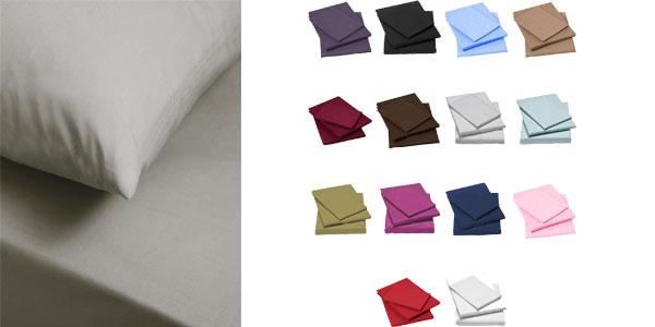 Sábanas de algodón egipcio 100% de 400 hilos chollo en eBay