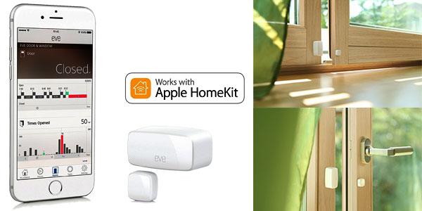 Sensor inalámbrico de contacto Elgato Eve Door & Window con Apple HomeKit chollazo en Amazon