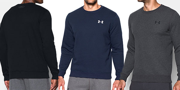 Sudadera Under Armour Rival Solid Fitted Crew barata