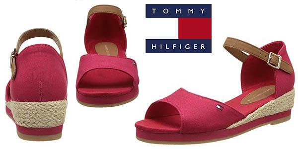 Tommy Hilfiger Kristin sandalias de cuña para mujer baratas