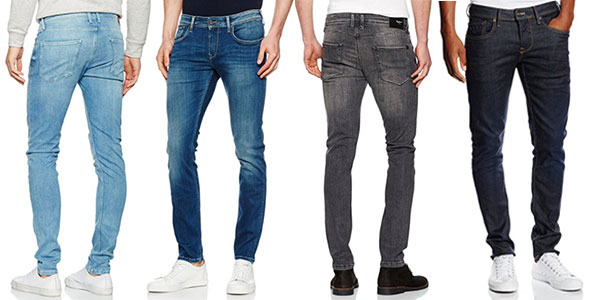 Vaqueros Pepe Jeans Finsbury para hombre baratos