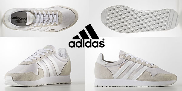 Zapatillas Adidas Haven blancas baratas