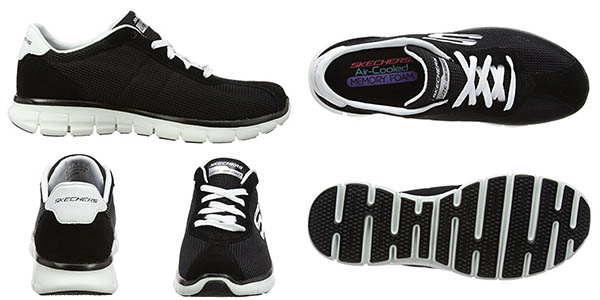Skechers Synergy – Case Closed para mujer