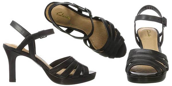 zapatos elegantes cómodos Clarks Mayra Poppy