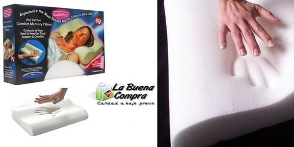 almohada viscoelástica Memory Foam con gran relación calidad-precio