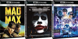 Blu-ray UHD 4K en Amazon