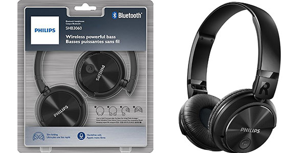 Auriculares Philips SHB3060BK Bluetooth baratos
