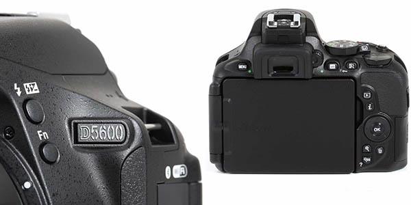 Cámara réflex Nikon D5600 barata