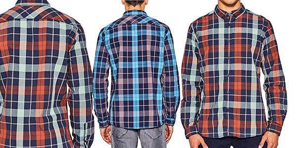 camisa de diseño casual para hombre edc by Esprit