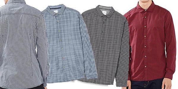 camisa EDC by Esprit de manga larga y diseño casual con genial relación calidad-precio