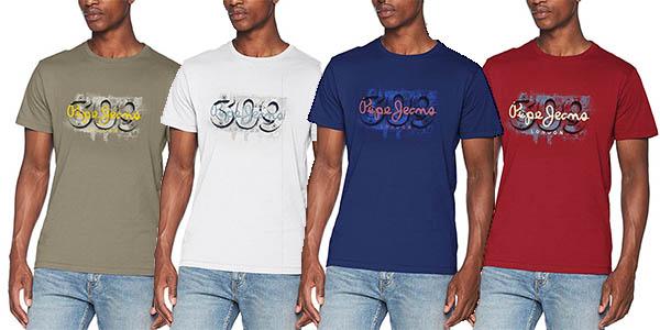 camiseta de manga corta Pepe Jeans Alnus chollo