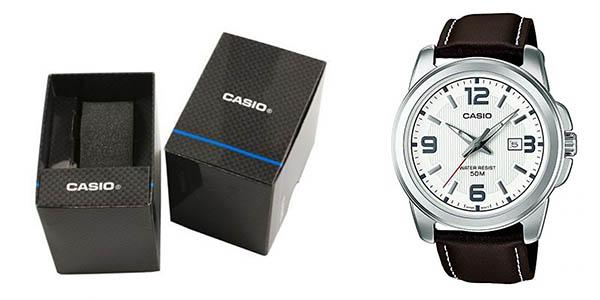 Casio MTP 1314PL 7AVEF reloj de pulsera cuarzo para hombre elegante chollo
