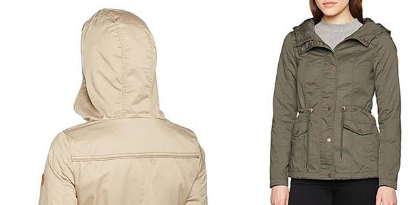 cazadora con capucha casual para mujer Only Onlkate chollo