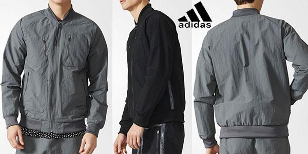 Chaqueta Adidas Originals Urban de color gris para hombre barata