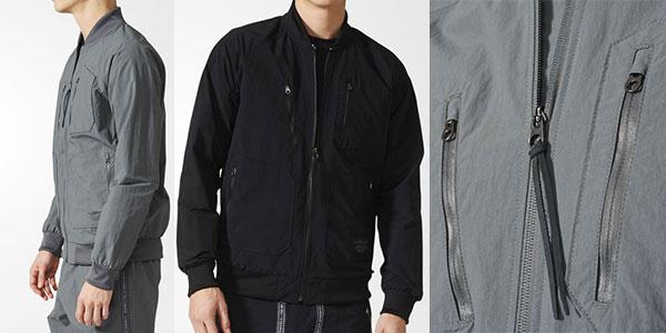 Chaqueta Adidas Originals Urban de color negro para hombre rebajada
