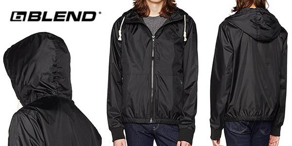 chaqueta impermeable ligera para hombre Blend chollo
